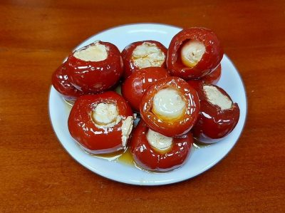 перец фарширован сыром